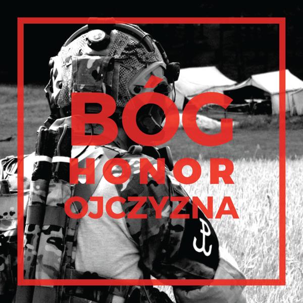 Bóg Honor Ojczy Grom Slava Republic