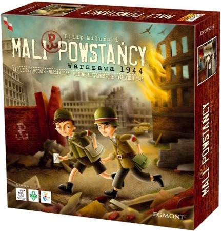 BOARD GAME SMALL UP RISES WARSAW 1944 - Filip Miuski