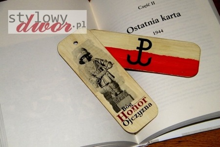 BOOKMARK - WARSAW Uprising - LITTLE Uprising - GOD HONOR FATHER