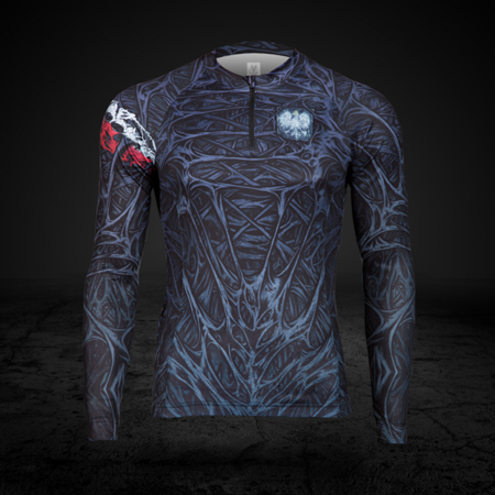 BioPancerz Polish Superhero cycling jersey