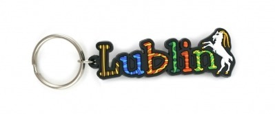 Rubber keyring `` Lublin ''