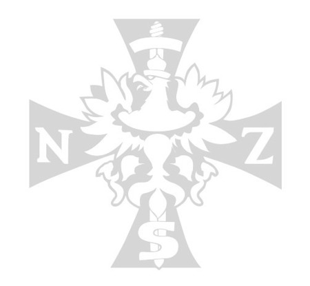 Car sticker National Armor Forces - white