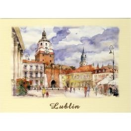 LUBLIN WATERCOLOR VIEW LUB-04