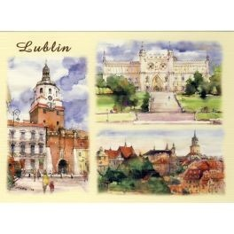 LUBLIN WATERCOLOR VIEW LUB-05