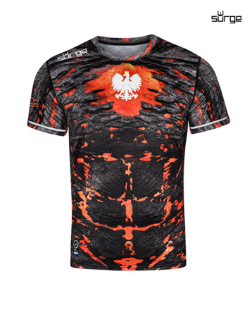 Lava compression t-shirt short sleeve