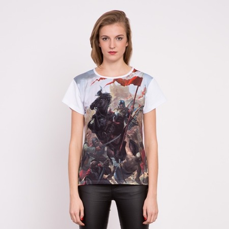 Loose fit. Hussars. Battle of Vienna - sublimation print