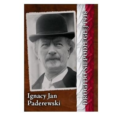A5 checkered notebook with A5 pages - Ignacy Jan Paderewski