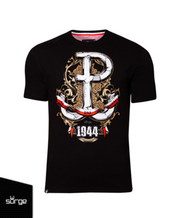 Patriotic T-shirt 63 Days of Glory BLACK