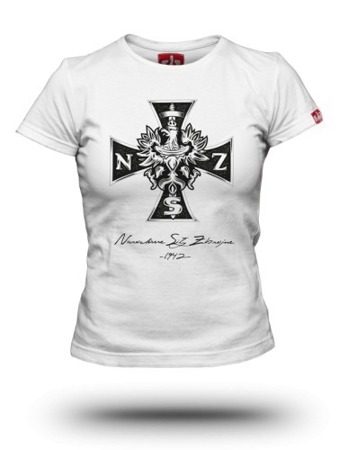 Patriotic T-shirt National Armed Forces of NSZ women's