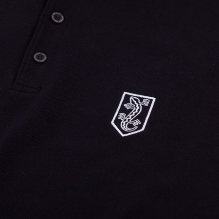 Polo shirt with NSZ embroidery - black