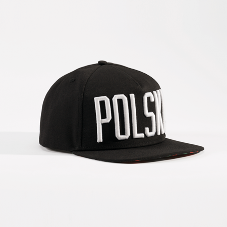 Snapback Poland 3D embroidery