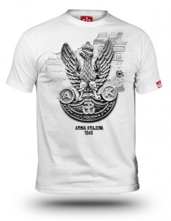 White Eagle AK patriotic T-shirt