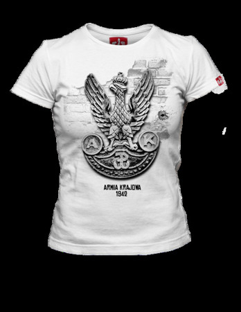 Women's Home Army patriotic t-shirt