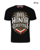T-shirt GOD HONOR FATHER Black