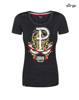 Women's patriotic T-shirt 63 Days of Glory (DARK MELANGE)